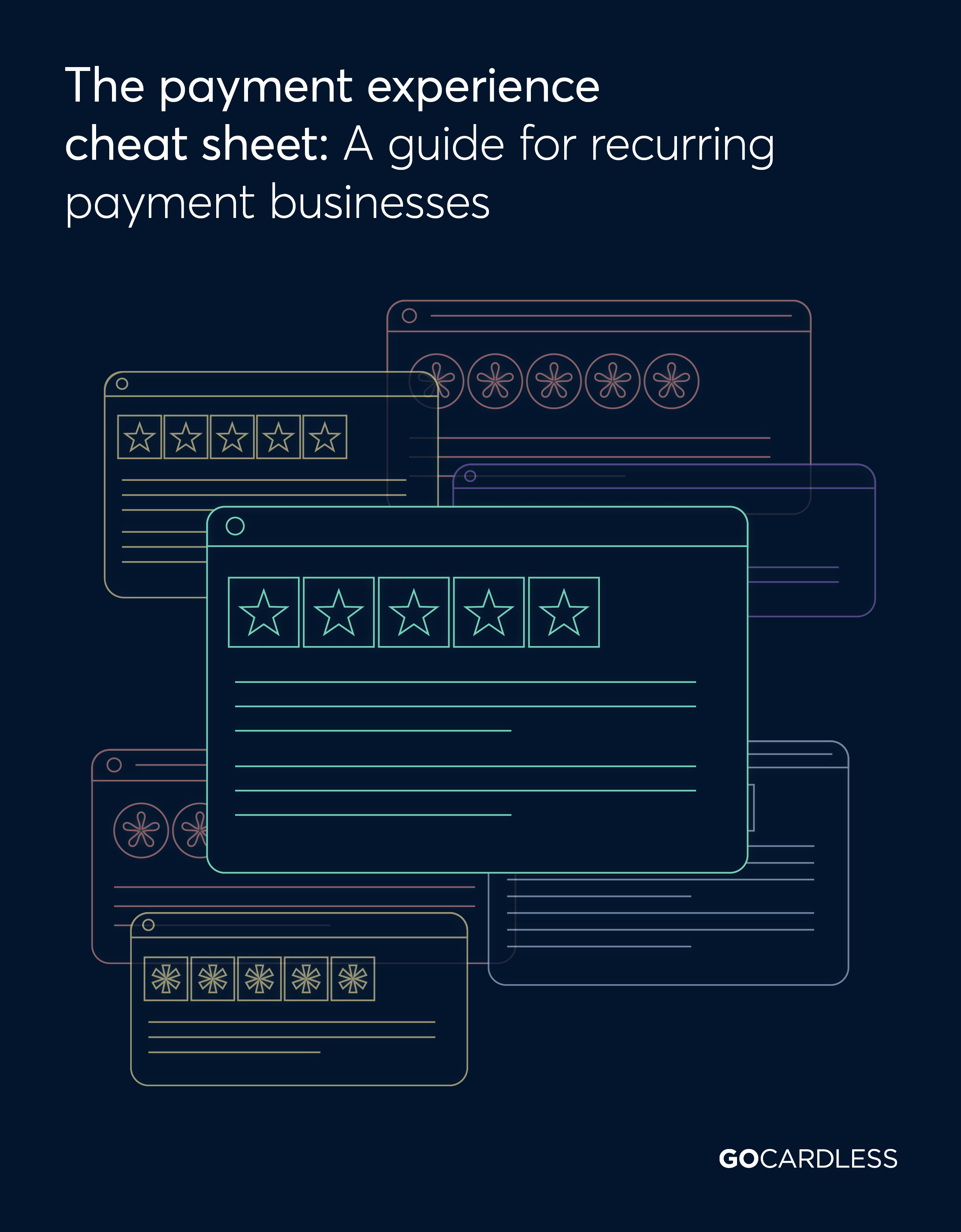Payment experience cheat sheet